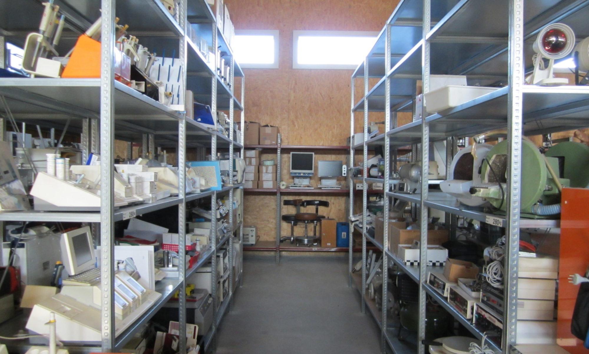 Spitalmaterial aus der Schweiz für Hilfsprojekte in der Dritten Welt